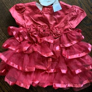 NWT Baby Girl ruffle dress size 9 months